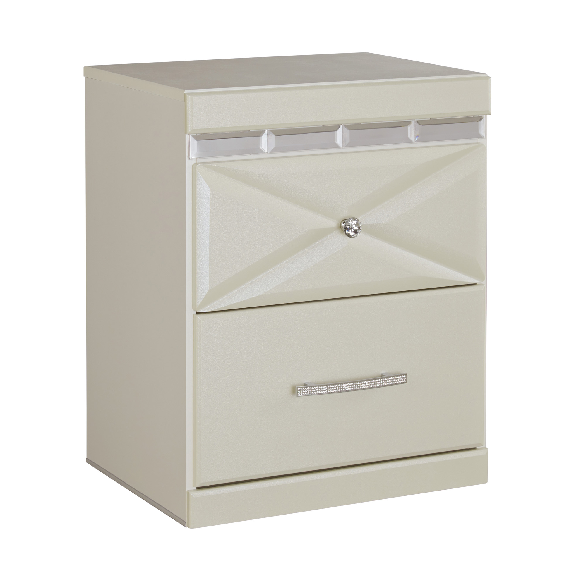 Dreamur two drawer night stand ashley home gallery stores