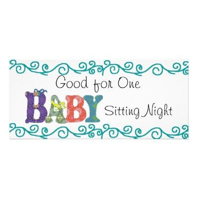 Babysitting Coupon Template  Good Stuff