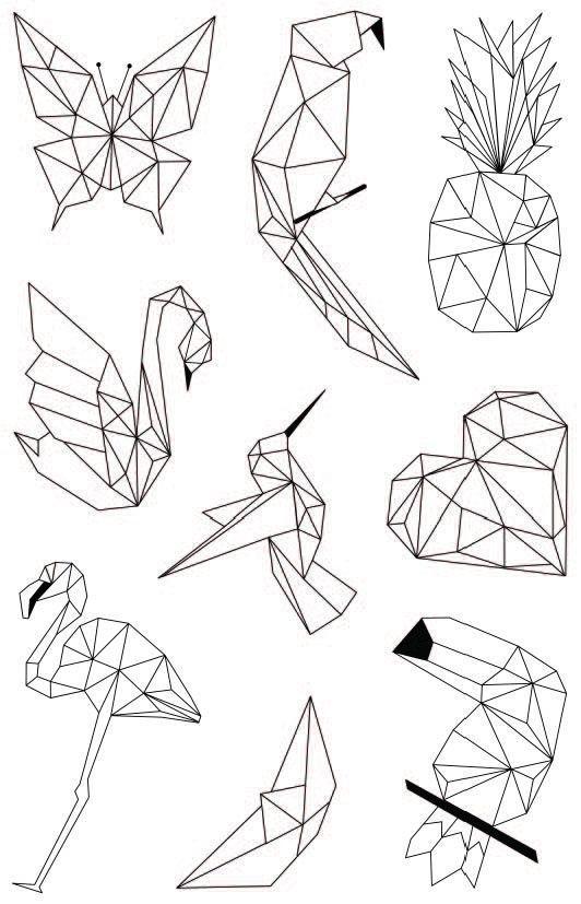 Photo of Desenhos geométricos para colorir   Como fazer em casa