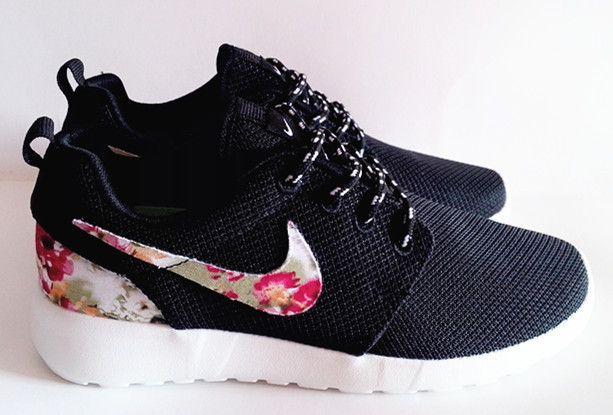 eb5dcf630 nike roshe femme fleur   My Way   Nike shoes cheap, Sneakers nike ...