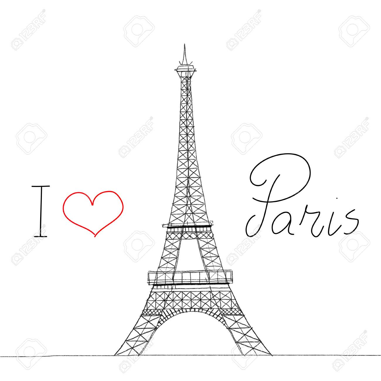 I love paris eiffel tower yo amo a par s torre eiffel for Torre enfel
