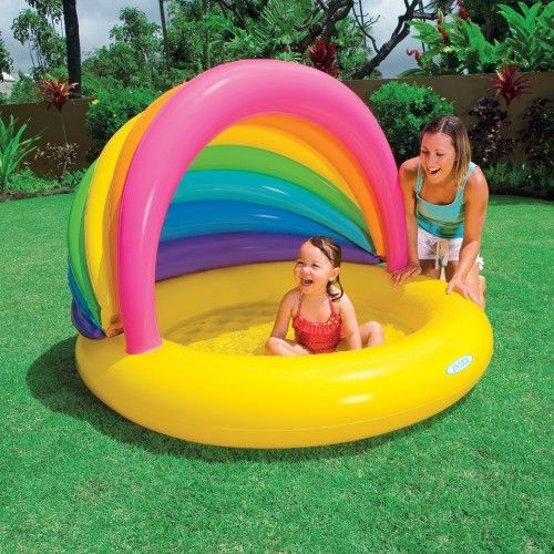 Baby Planschbecken Mit Dach : pin auf outdoor activities ~ Watch28wear.com Haus und Dekorationen