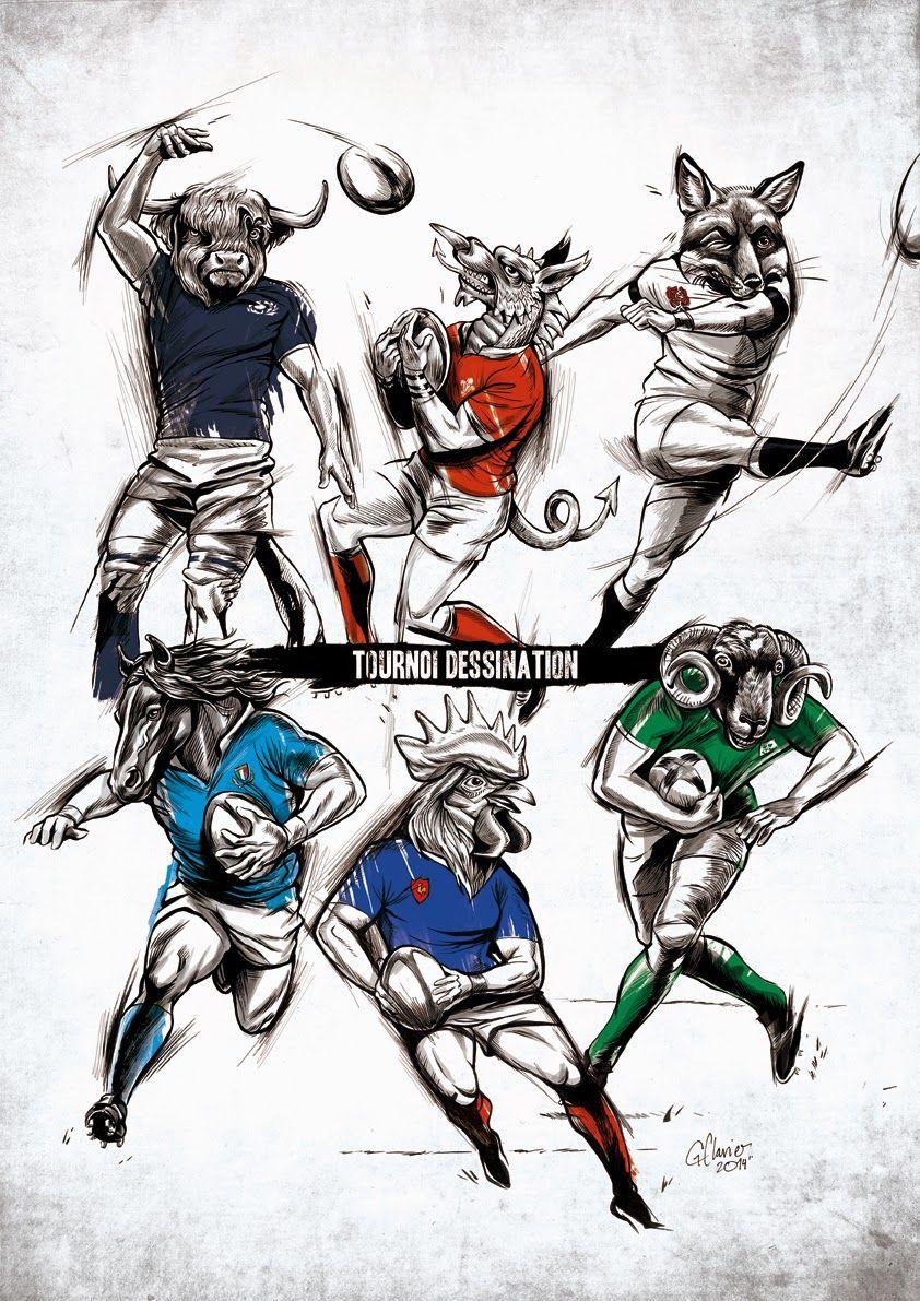 Le Tournoi Dessination Dessin Rugby Super Rugby Sport De Rugby