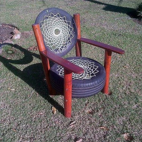 9 things to make from old tyres craft diy projects for How to make tire furniture