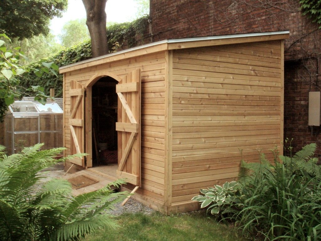 Large sarawak cedar lean to shed perfect beside your home for Lean to storage shed