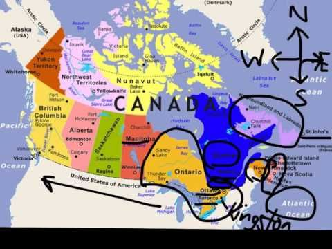 The Provinces And Territories Of Canada Youtube Northwest Territories The Province Province