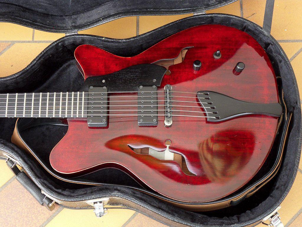 Moffa Lorraine Semi Acoustic Guitar Gibson 335 Style In Fulham London Gumtree Semi Acoustic Guitar Acoustic Guitar Acoustic Guitar Notes