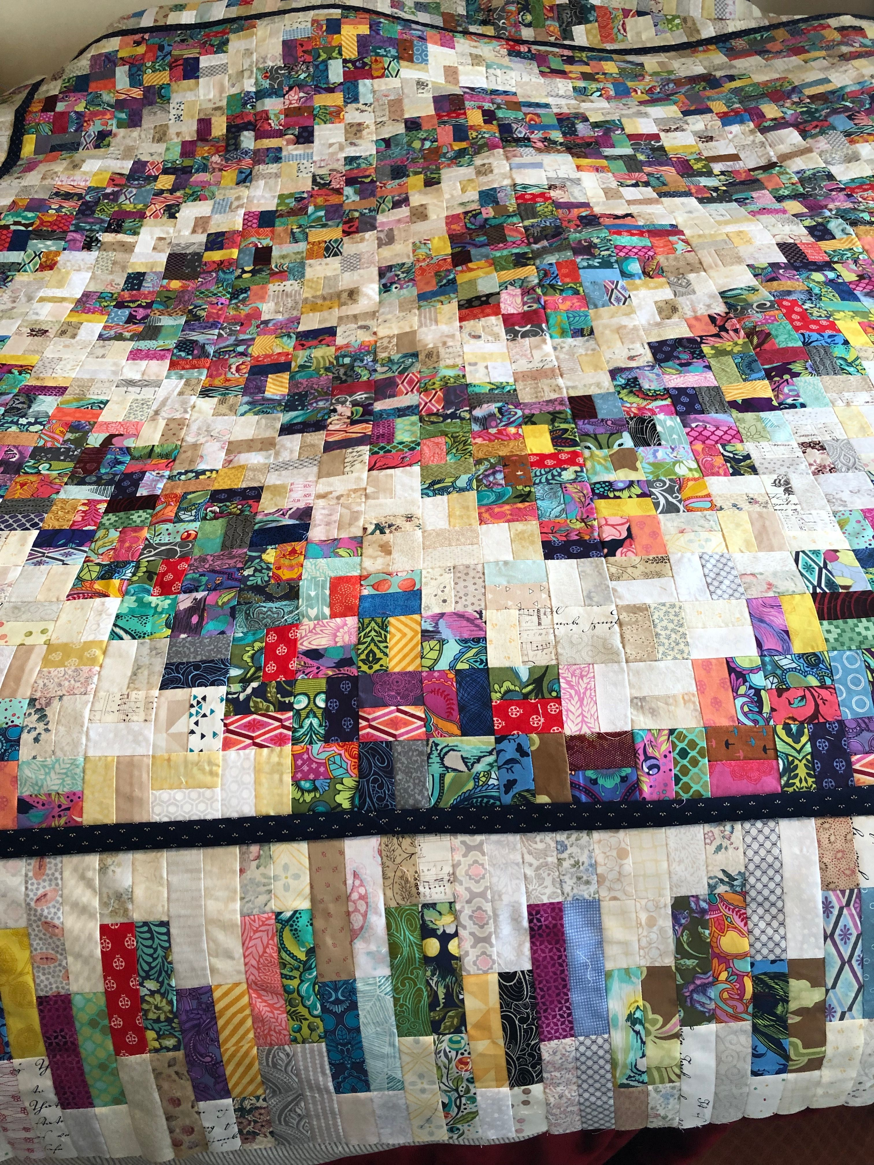 Sew Many Strips Scrap Quilts Scrap Quilt Patterns Colorful Quilts