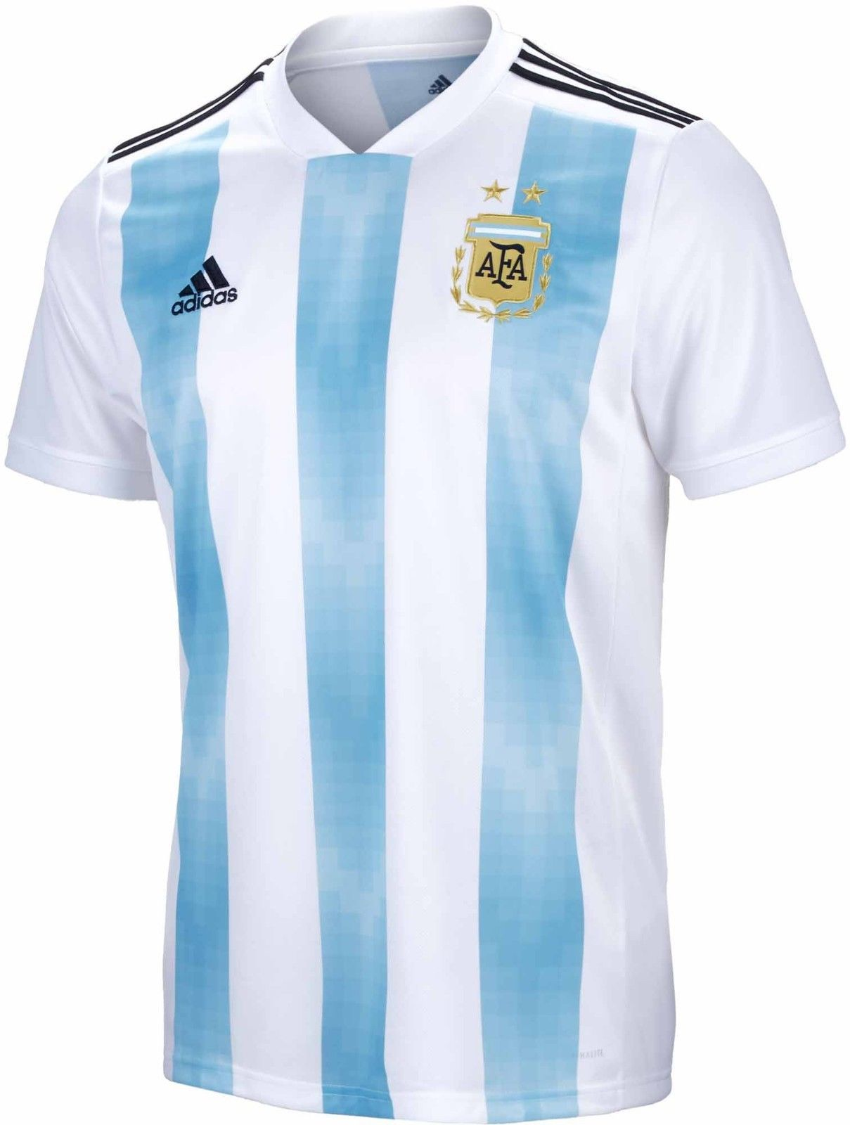 pretty nice 68421 4dba1 2018 World Cup Argentina National Soccer Team Jersey Mens ...