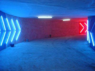 basement lighting | Cool shit | Parking design, Park ...