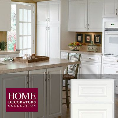 Hallmark Arctic White  Kitchen Cabinets  Pinterest  Hardware Mesmerizing Kitchen Cabinets Home Depot Review