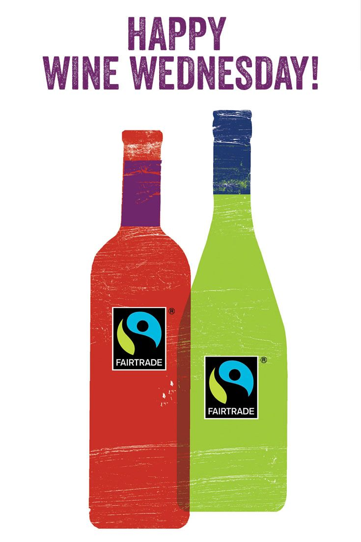 With Every Purchase Of Fairtrade Wine You Enable Farmers To Earn A Fair Price Invest In Their Community Happy Happy Wine Wine Wednesday Wine Bottle Carrier