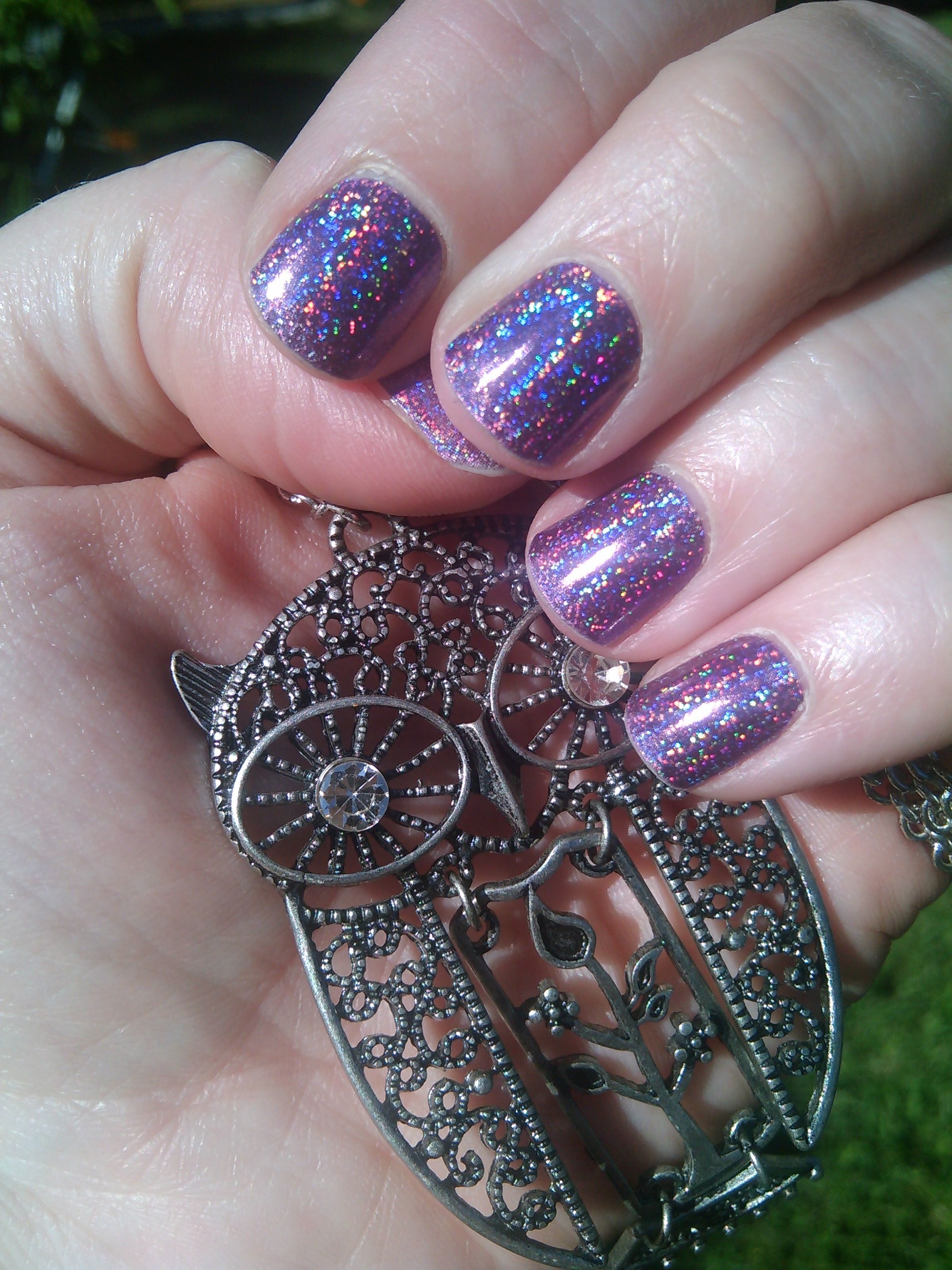 July Stylebox 2015 Neon Lights Holographic Wrap ~Jamberry