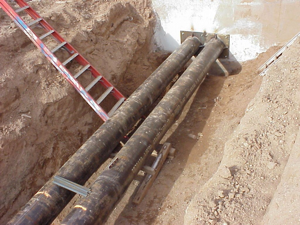 Underground Pipe Insulation, Insulated Underground Pipe ...
