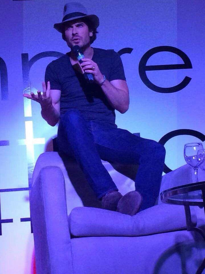 Ian Somerhalder at Vampire Attraction Con in Brazil 2015 (05/02/15)