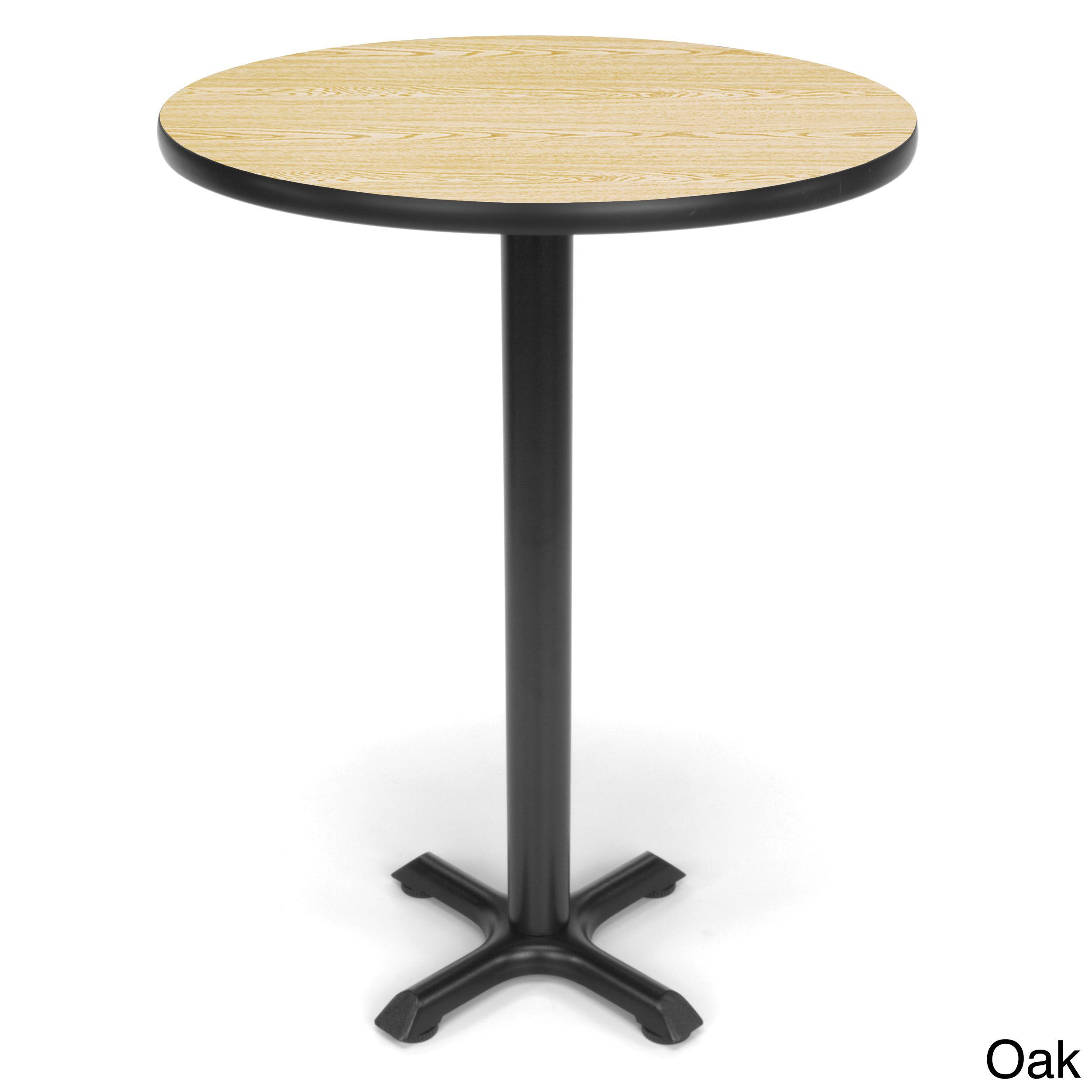OFM 30 inch Round X Style Base Cafe Table