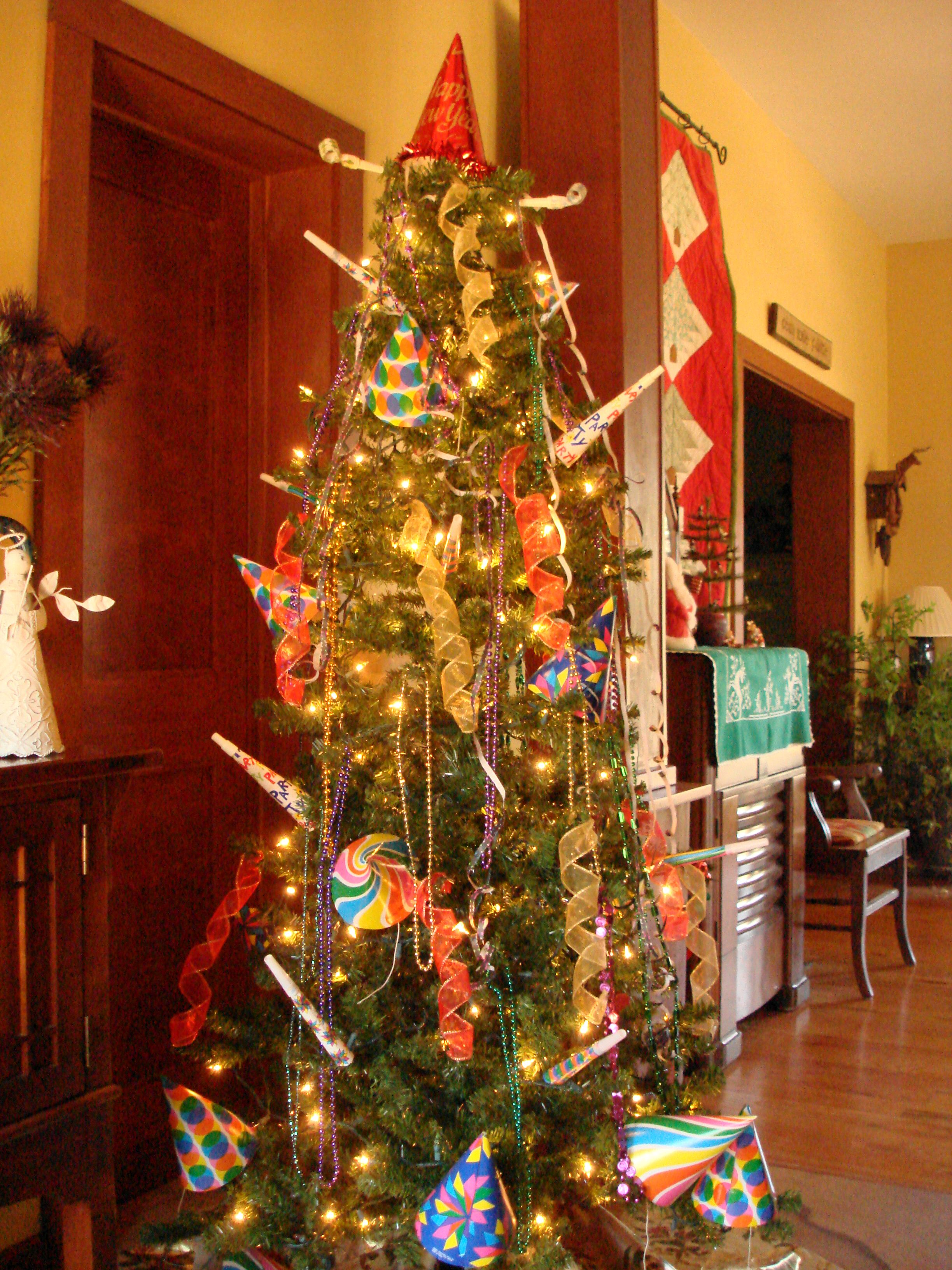 New Year Tree | Holiday tree, Holiday decor