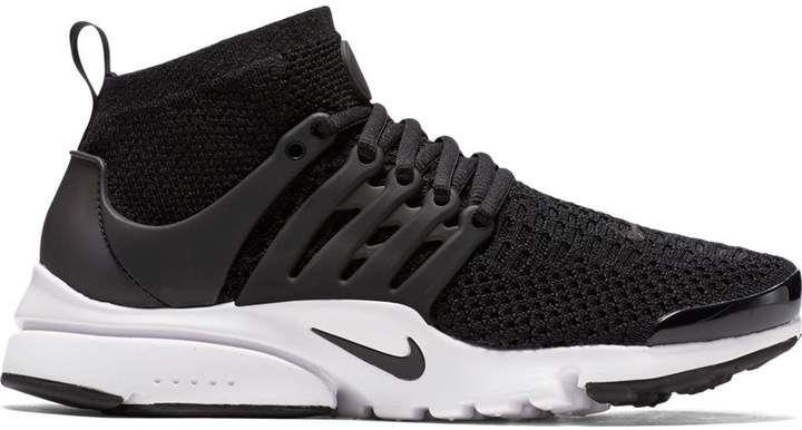Nike Presto Ultra Flyknit Black (W) | Nike flyknit black