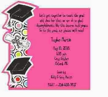 For Graduation Party Invitations Ideas It Is Best To Highlight The