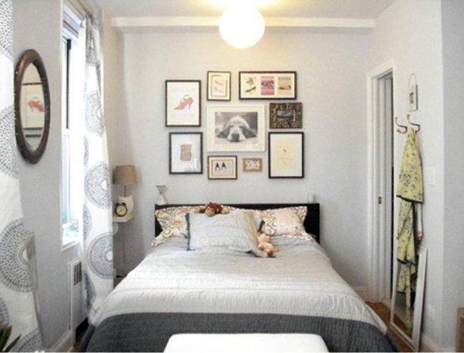 Trucos para decorar #dormitorios pequeños #decor http://www.decoblog ...