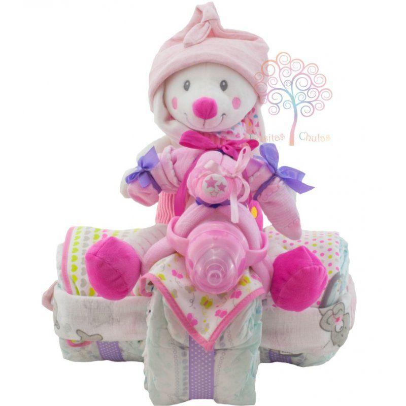 Regalos Para Bebes Que Lo Tienen Todo.Triciclo De Panales Un Fantastico Regalo Para Una Bebe Que