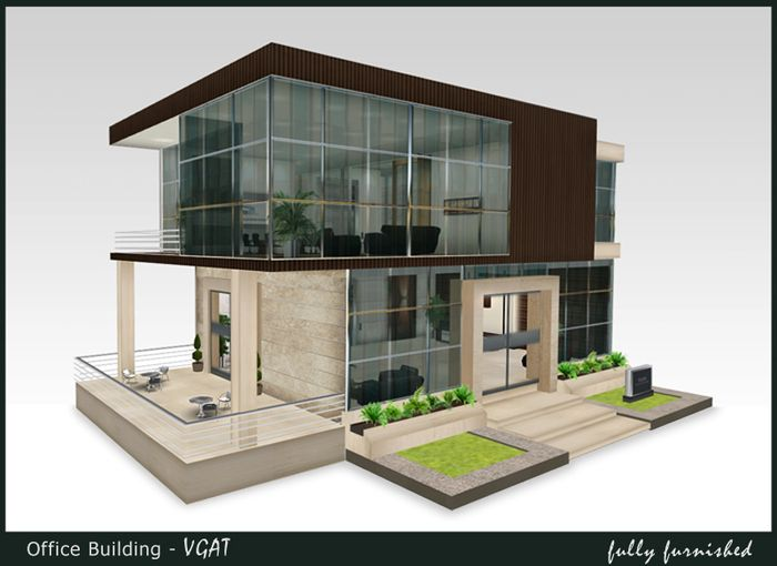 Beautiful VGAT Is A Small Beautiful Small Office Building. Its Elegant And Expensive  Looking Design Is Perfect For Any Small Office Or Headquarter Needs.