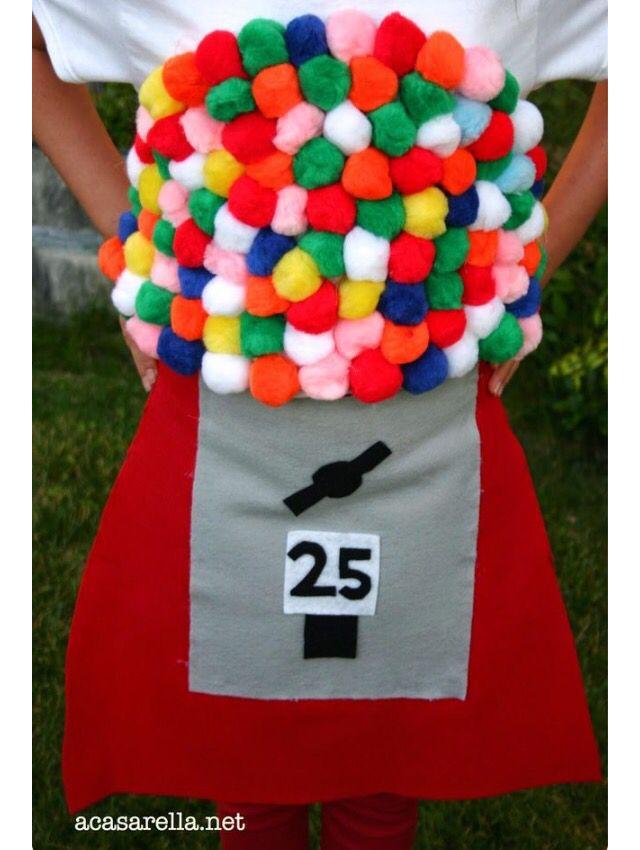 gum ball machine little peeps pinterest kost m fasching und karneval. Black Bedroom Furniture Sets. Home Design Ideas