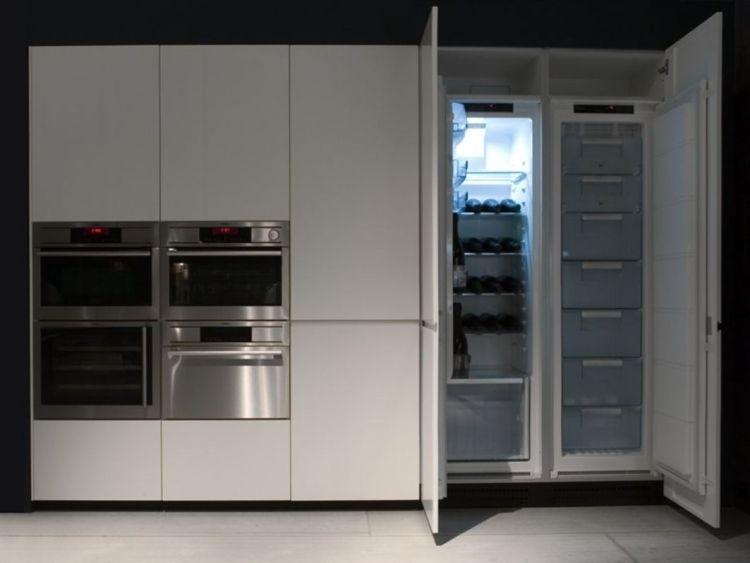 Kühlschrank und Einbau-Küchengeräte | kitchen in 2019 ...