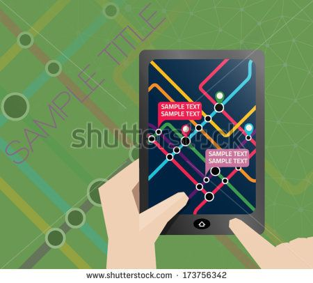Subway Map Presentation.Subway Map Presentation Slide Or It Can Be Used As Brochure By