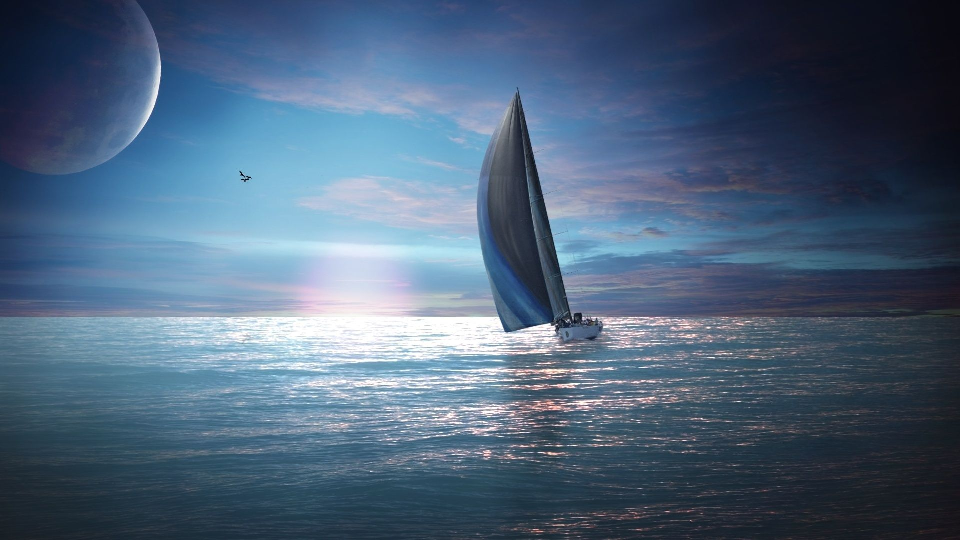 Image Detail For Sailing Boat Wallpapers Hd Wallpapers Boat