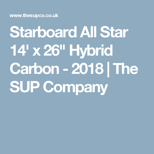 Starboard All Star 14\' x 26\