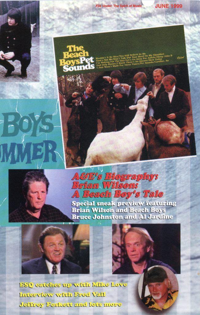 SUMMER 1999, Issue 47 BRIAN WILSON A Beach Boy's Tale