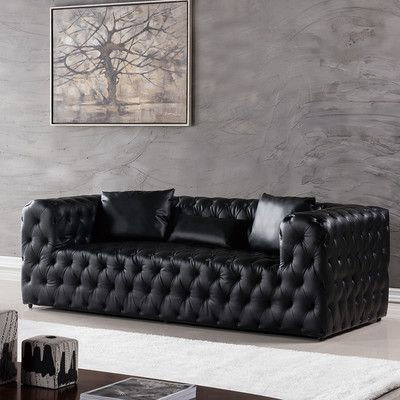 Mercer41 Foti Chesterfield Sofa Sofa Chesterfield Sofa
