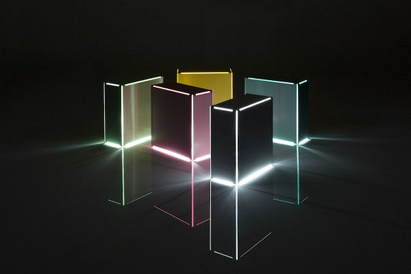 Neon Table Light by Minimalux Photo