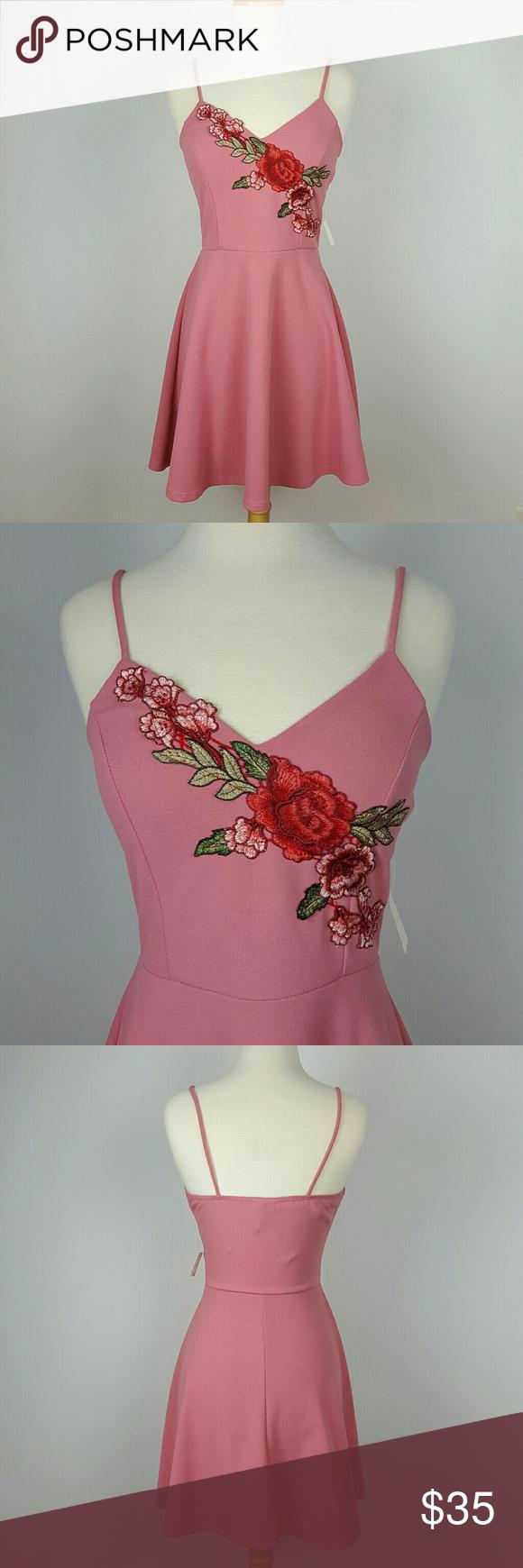 Fashion magazine womenus dress pink size large boutique posh picks
