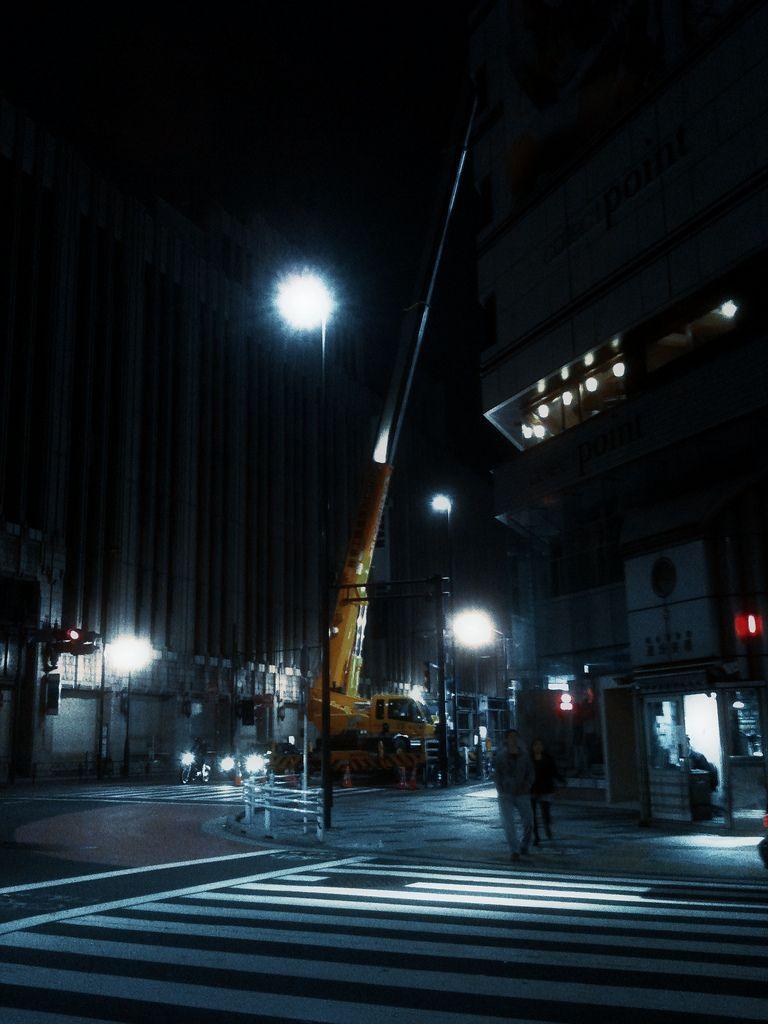 midnight in Shinjuku