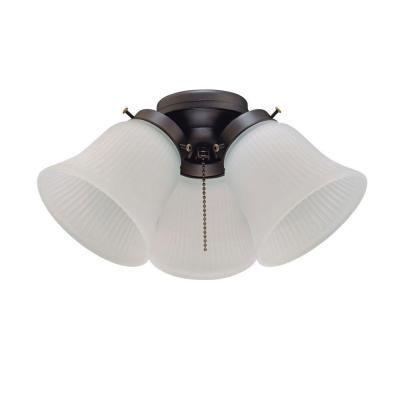 Westinghouse 3 Light Oil Rubbed Bronze Ceiling Fan Light Kit