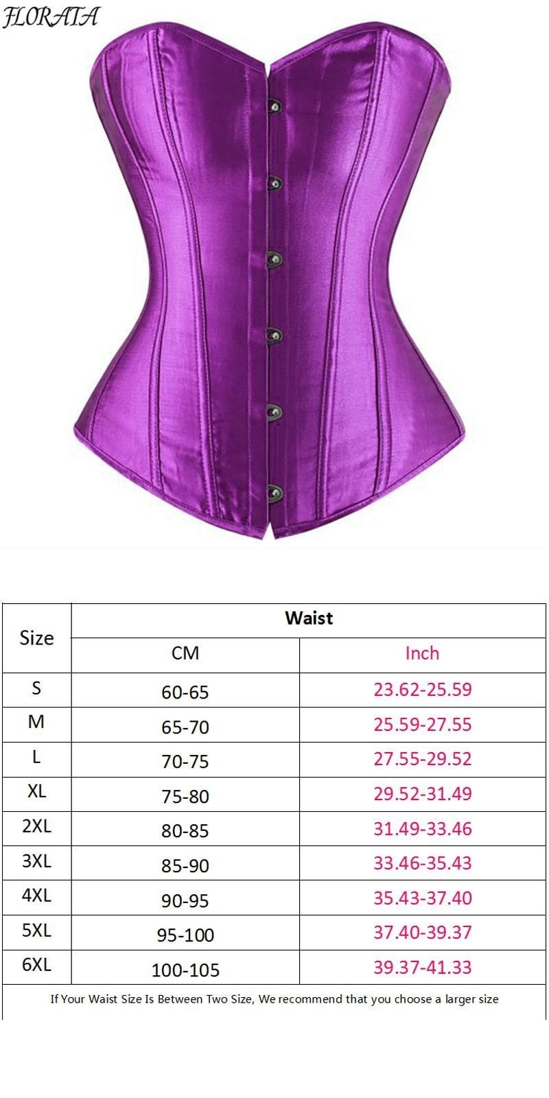 7441c44277 Good quality women sexy corset waist trainer satin black white overbust  boned lace up top bustier lingerie plus size  polyester