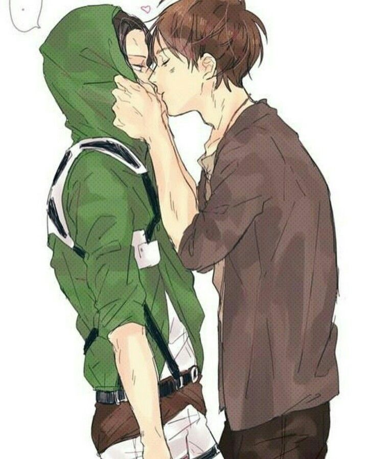 Levi X Eren With Images Attack On Titan Levi Ereri Attack On