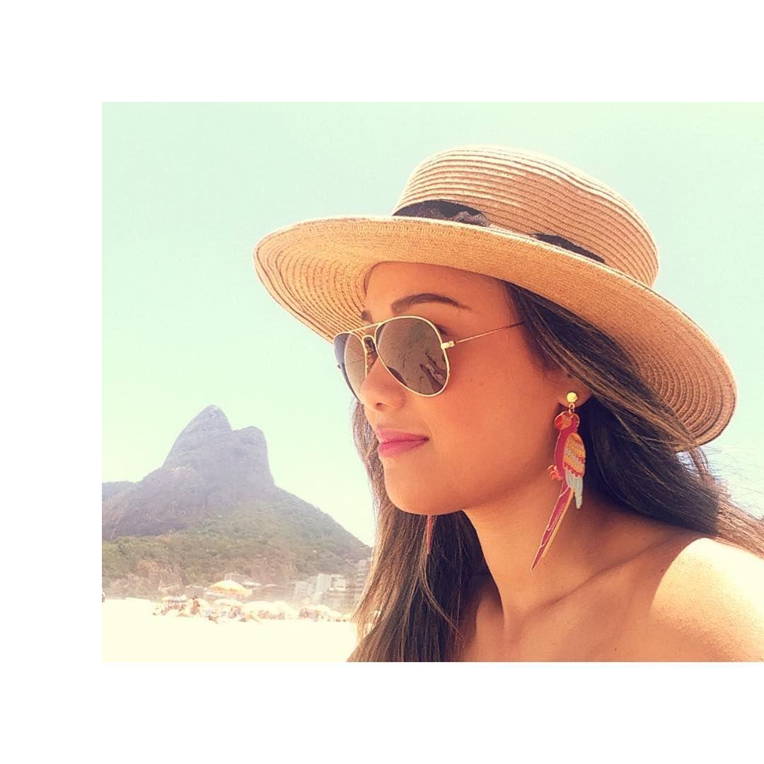 Rio de Janeiro l Hat; beach; Pão de Açucar; Praia do Leblon; Joao Sebastião l Renata Ferraz l Blog Get Trendy