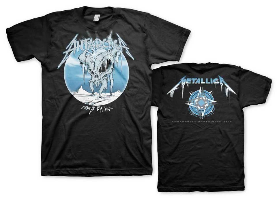 5722e7d110 Metallica - Limited edition Antarctica
