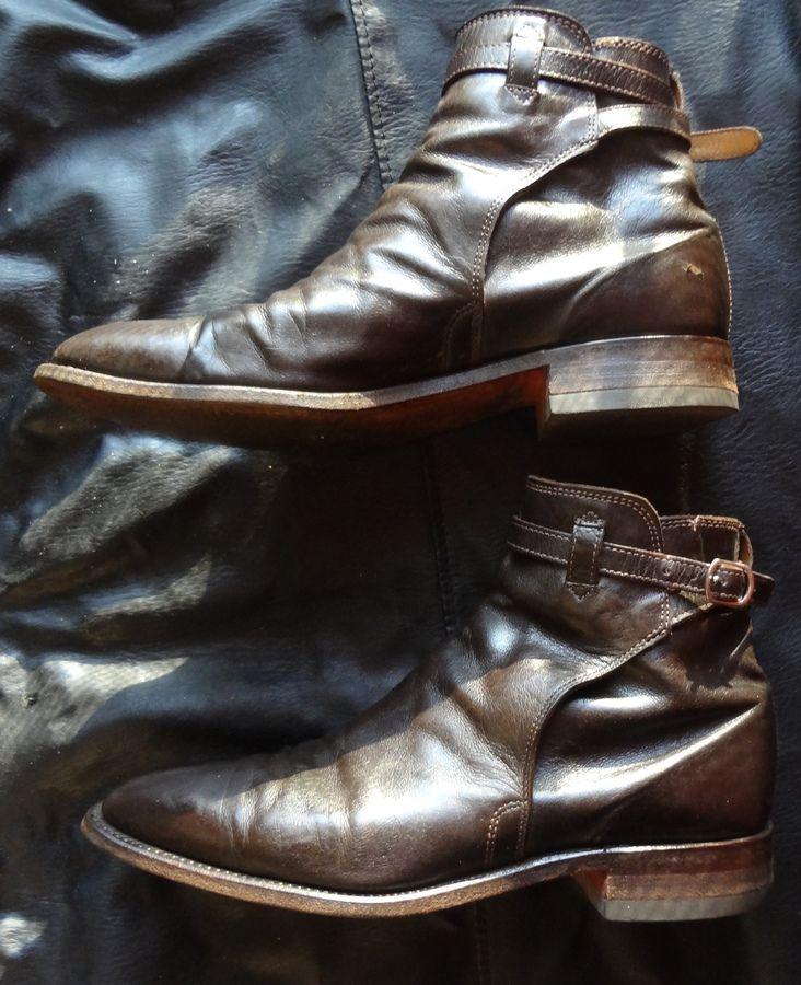 e669d900b19 RM WILLIAMS STOCKMAN KANGAROO LEATHER BUCKLE BOOT CHESTNUT. | Shoes ...
