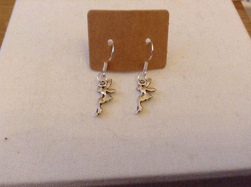 Handmade Charm Silver Earrings - Fairy   eBay