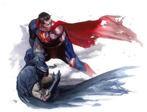 Superman - Batman by Gabriele Dell'Otto