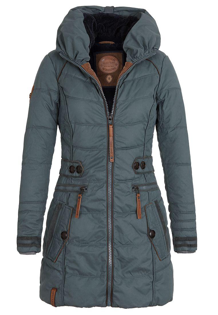 another cool coat from vegan coat company naketano. #vegan