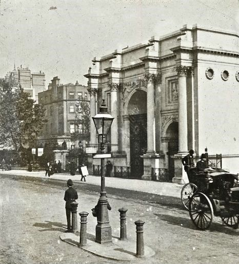 Vintage London Marble Arch C 1900 Old London London History Victorian London
