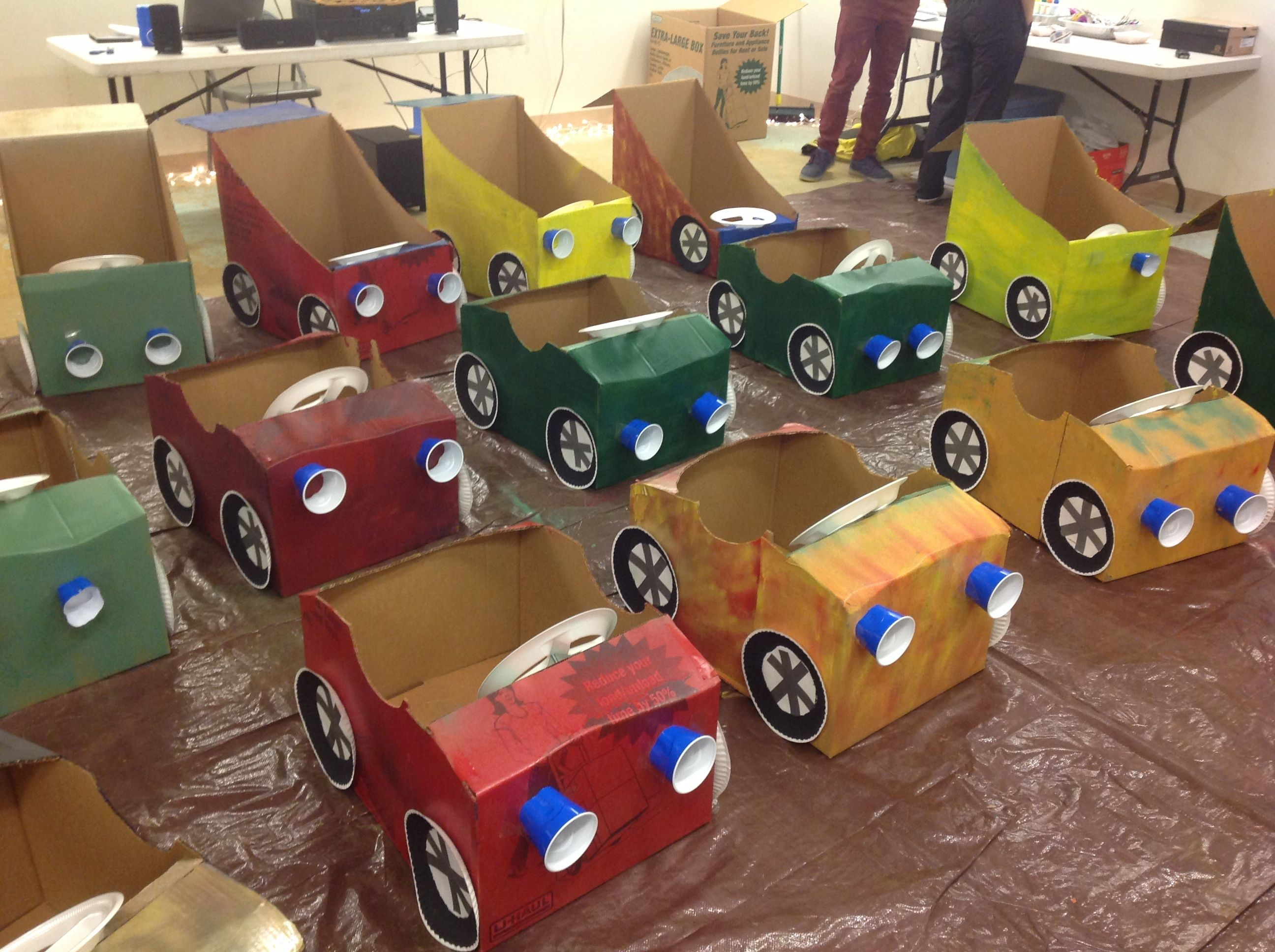 drive in movie party for three year old fischers