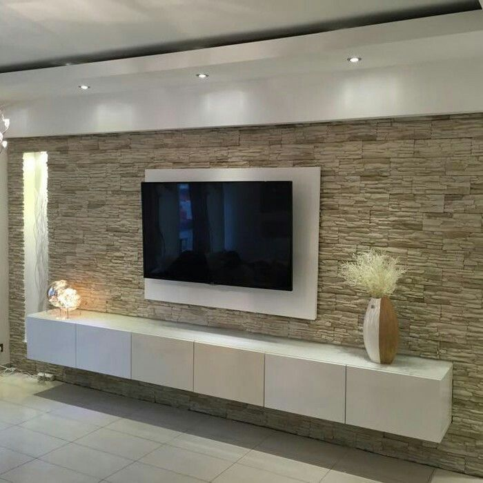 Tv wand wohnen pinterest wand tvs and living rooms for Wohnung dizayn