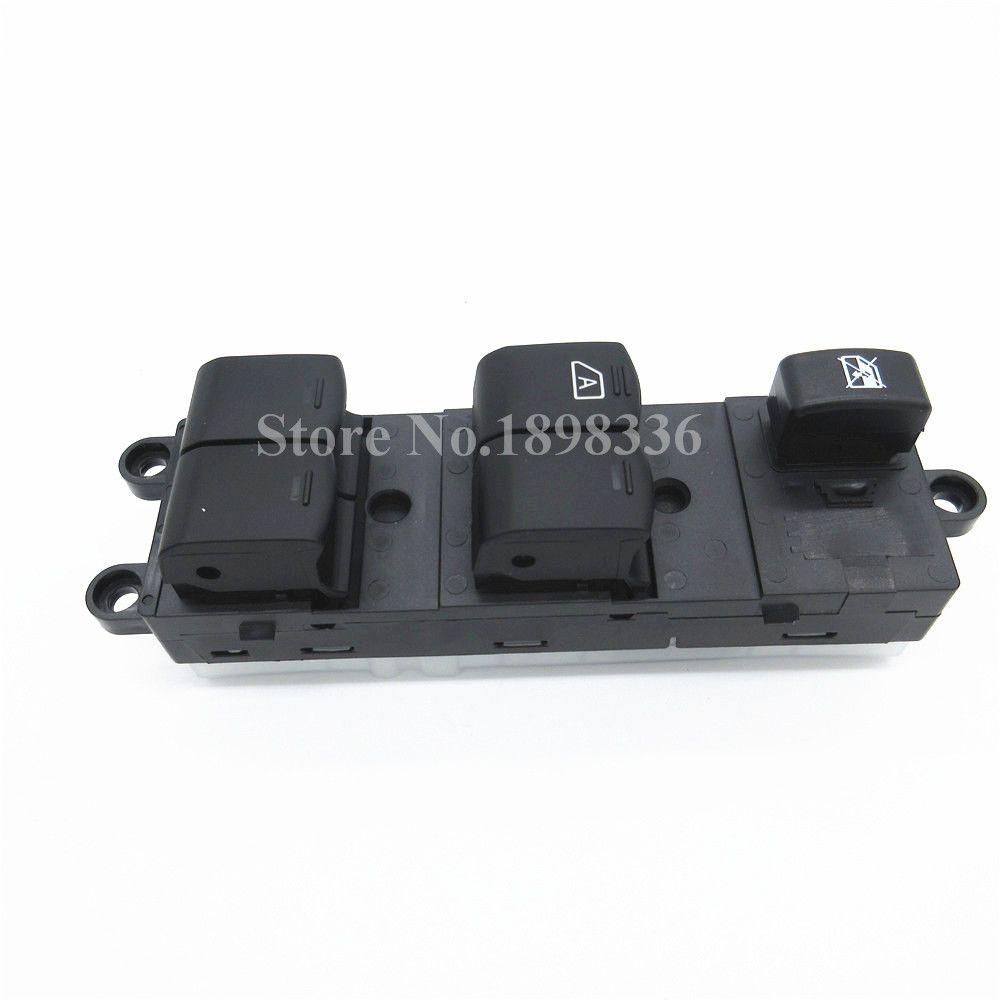 Car Front Left Window Master Control Switch Button For Nissan Pathfinder Navara