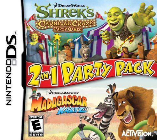 Dreamworks Party Pack - Nintendo DS by Activision @ niftywarehouse.com